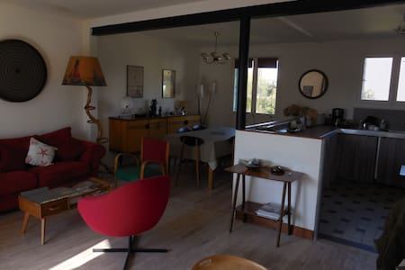 Maison avec jardin bord de mer - Quettehou - Casa
