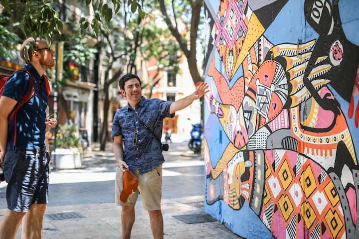 Miguel showing at Disneylexyas' mural