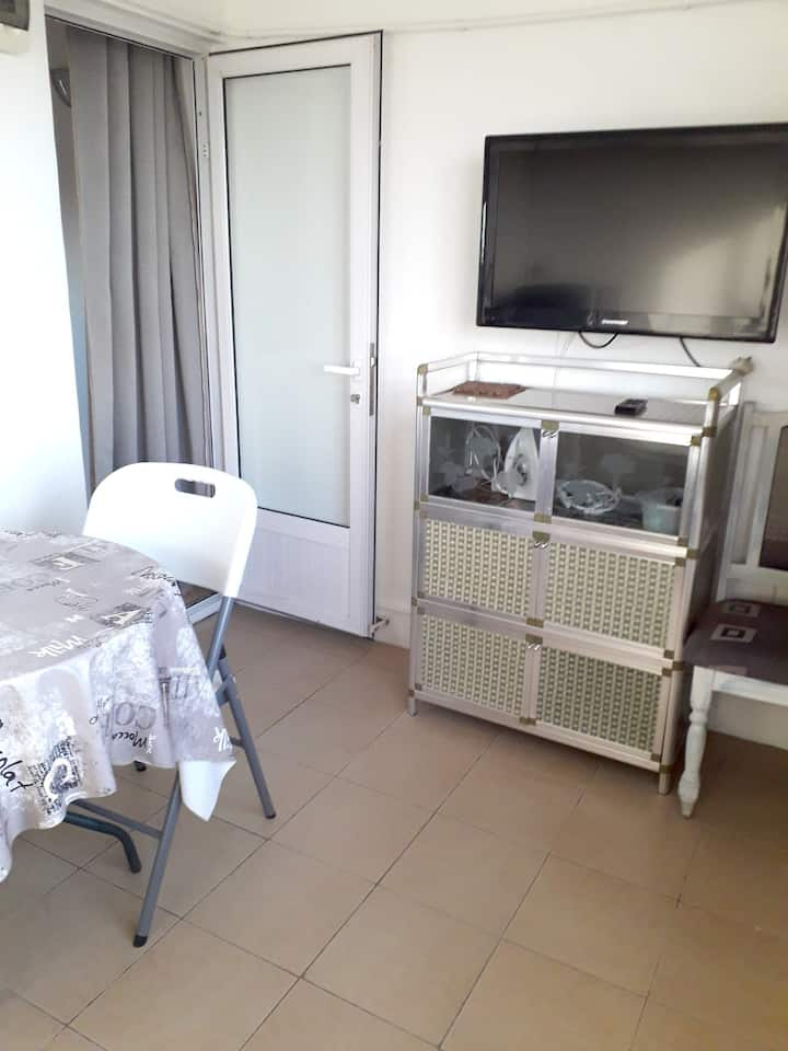 Apartment with one bedroom in Grand Baie, with wonderful sea view and WiFi - 300 m from the beach