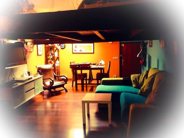 Buhardilla coqueta y acogedora - Bilbao - Appartement
