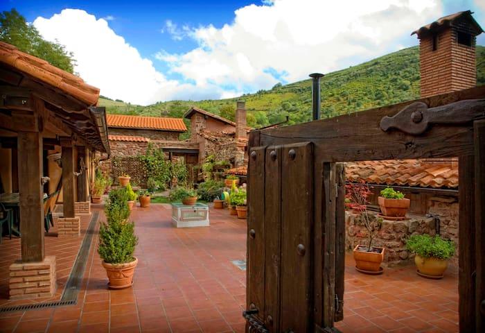 """Preciosa casa para desconectar :  """" LA SOLANA """" - Aldea de Turza - House"""