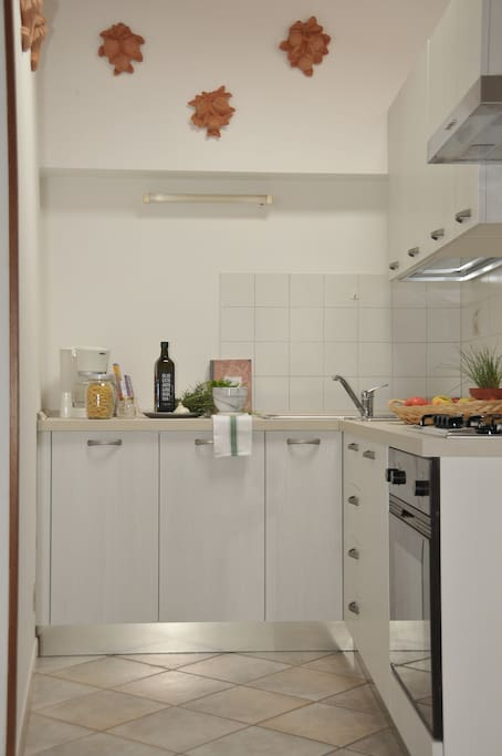 Kitchen: hoven, dishwasher, fridge, toaster etc.