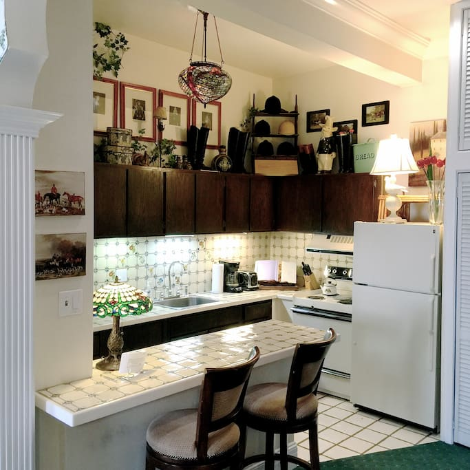 Fabulous Italian Tiled Kitchen