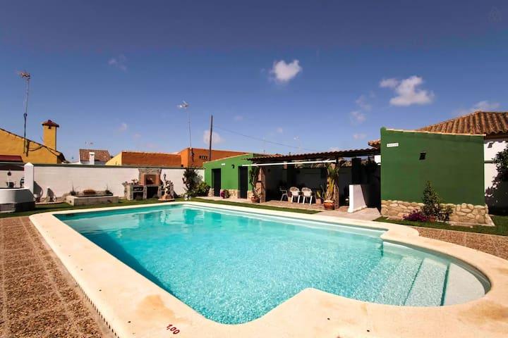 Villa con piscina privada - Zahora - Villa