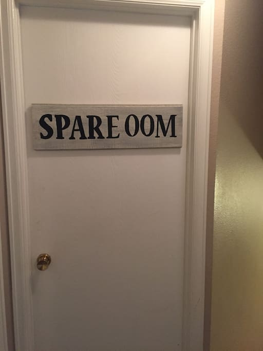 """The """"Spare Oom."""""""
