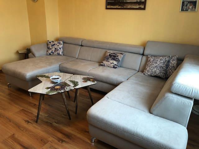 Ruhiges sauberes Apartment nähe City und Messe