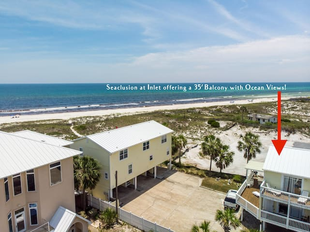 PET-FRIENDLY Home Offering Unparalleled OCEAN and CAMP HELEN STATE PARK VIEWS!