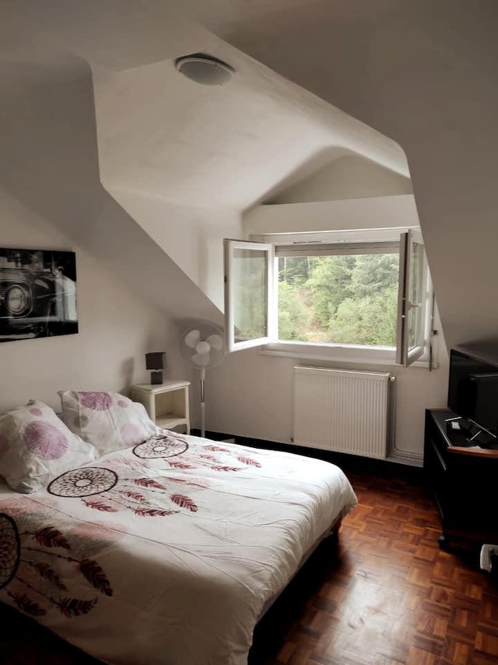 Appartement calme au 3ème étage à Capvern