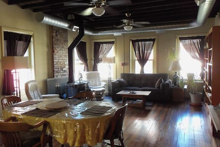 Excellent Downtown Loft 1400 SQFT w/ 2 BR & 2 Bath - Cincinnati - Loft