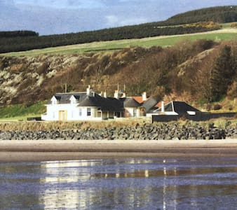 Sea views, quiet location. - South Ayrshire - Hus