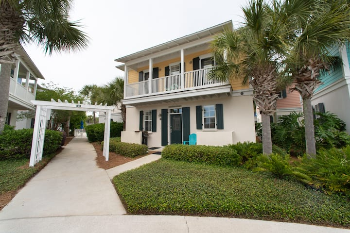 Feb $1500/mo☀️Seagrove Beach☀️Pool☀️Updated☀️2X Disinfected☀️2BR Sandy Toes