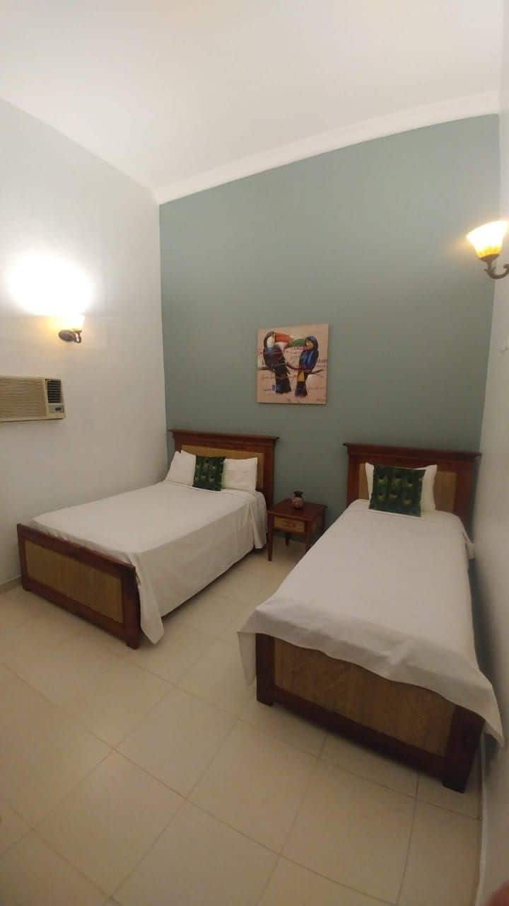 Double Room (Separate beds) with Air Conditioner