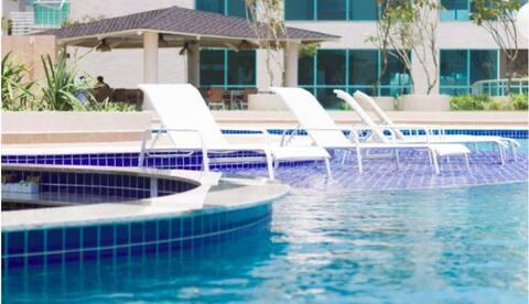 IMPERDÍVEL: Resort Salinas Park p/ 8p. em Dezembro