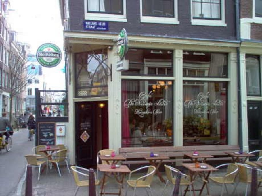Cafe Nieuwe Lelie, our hangout