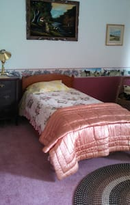 Rooms in historic farmhouse on horse farm - New Castle - Maison
