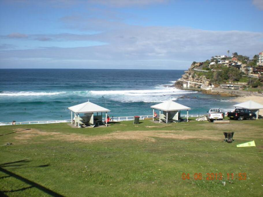 View to Bronte Beach