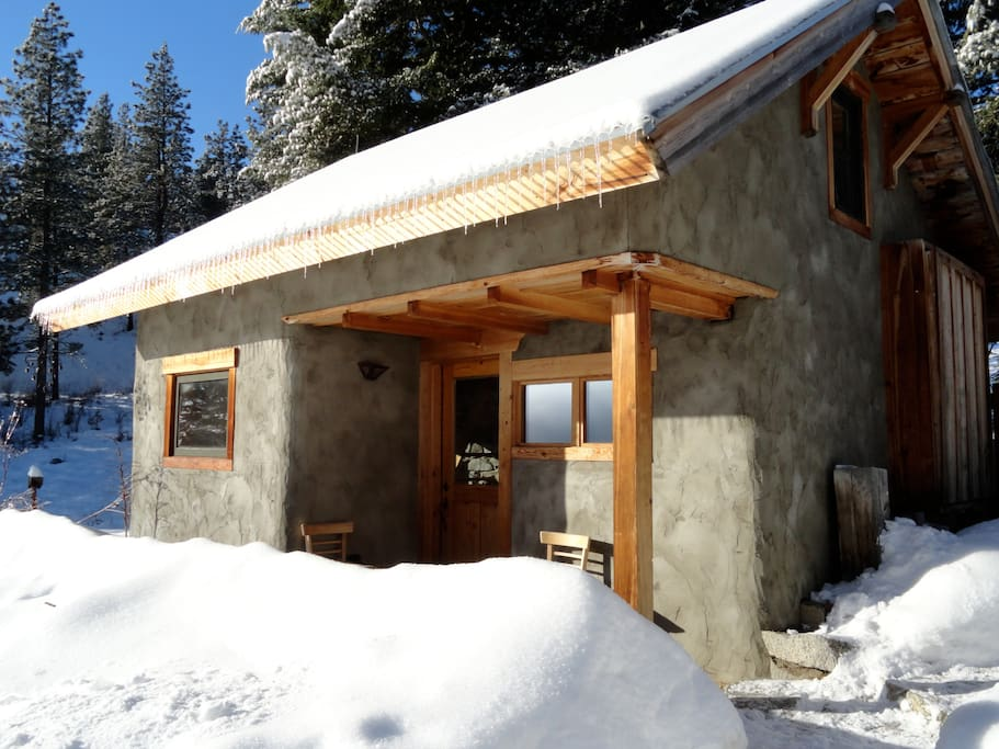 Cub creek cabin methow valley wa cabins for rent in for Winthrop cabin rentals