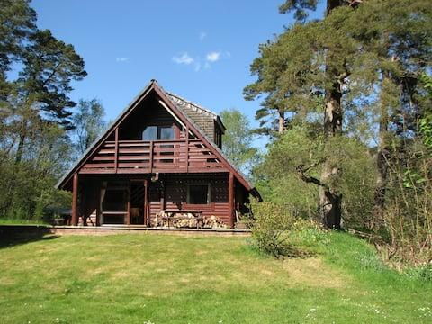 Balvaig Swiss Cabin, Strathyre, Perthshire