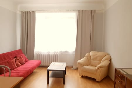 Bright & spacious | Free parking | Further center