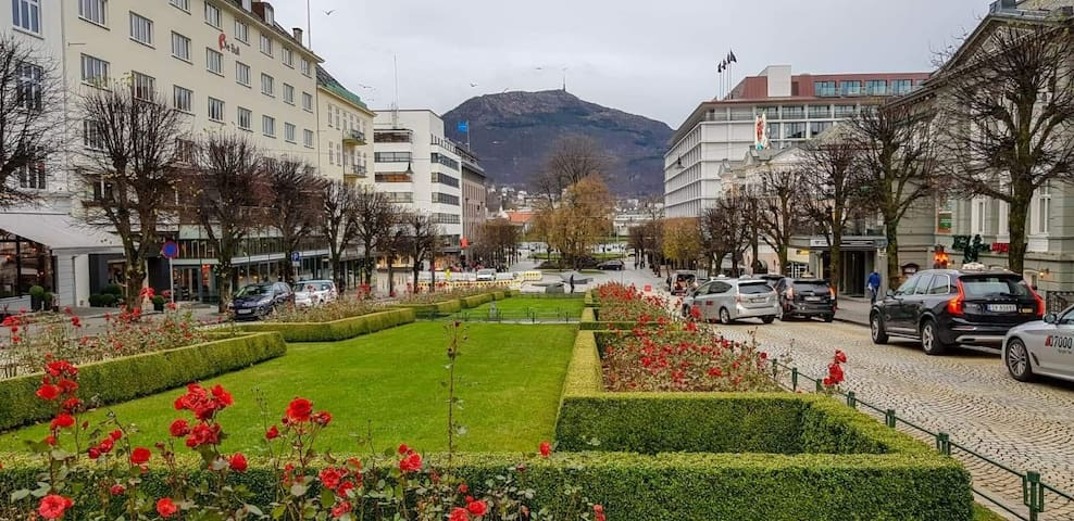 Modern and Central,  in the heart of Bergen city