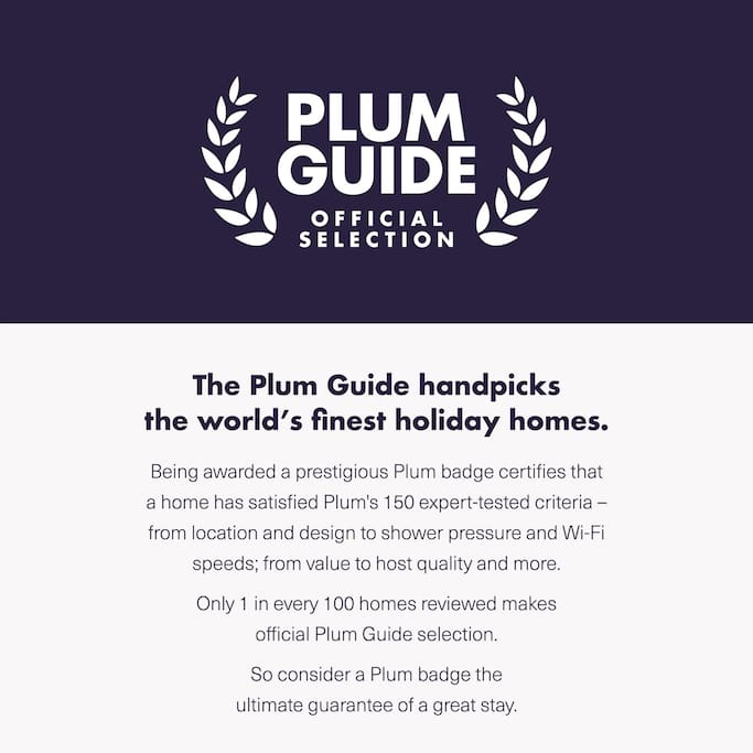 The Plum Guide certificate