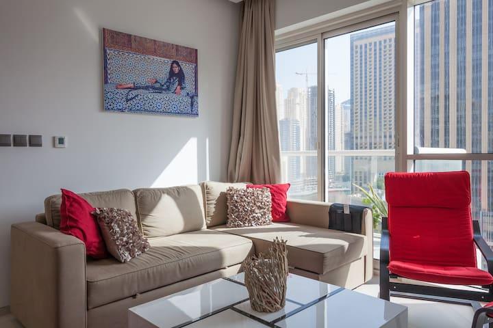 Charming 1 bedroom in marina - Dubai - Apartamento