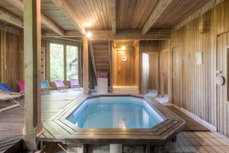 Suite avec piscine et sauna