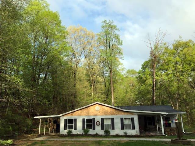 Hideaway Hollow - A Woodsy Getaway