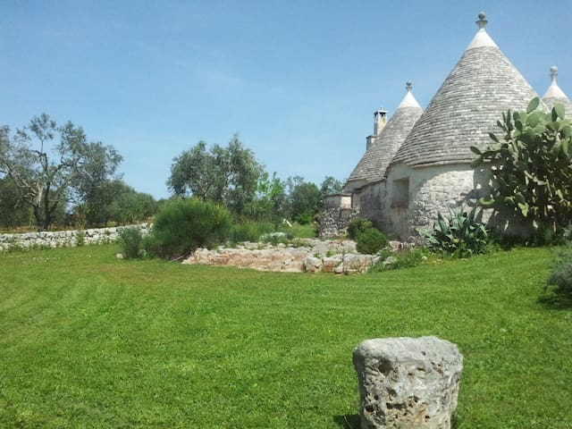 B&B La Gufa Trullo in Itria Valley. - Ostuni - Oda + Kahvaltı