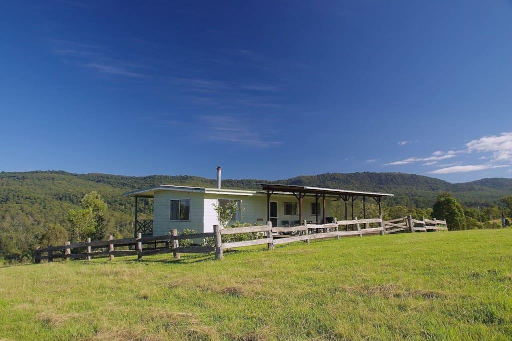 Wallaby creek retreat farm cottage agriturismi in for Piani casa del sud del cottage