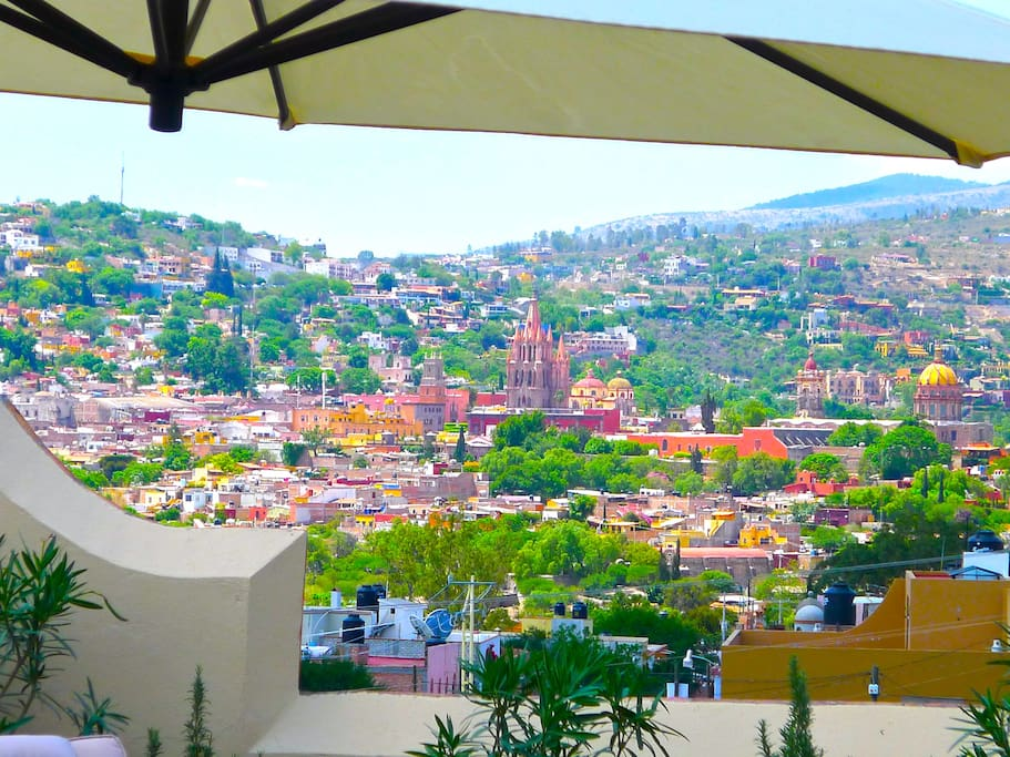 Views to Historic Centro