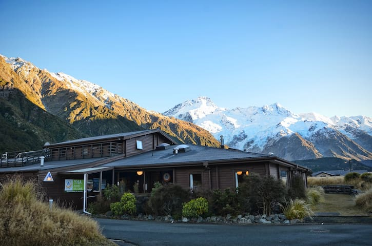 1 Bed in 4 Bed Mixed Dorm - YHA Mt Cook