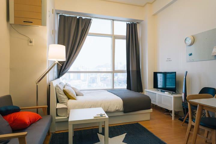 Newly open, Cozy apt. Seoul STN. - YONG SAN GU - Loft