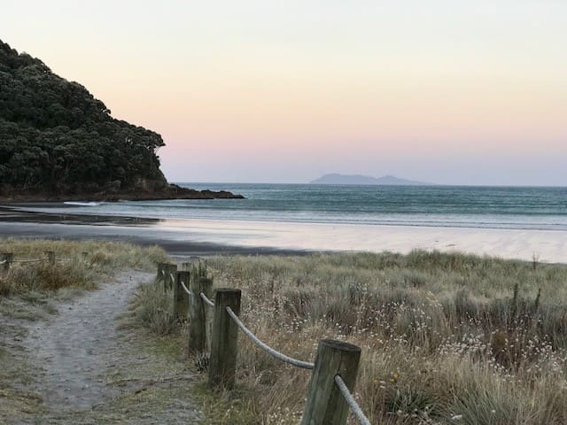 Local scenery - Waihi Beach. This photo was taken from North End of the beach.  We are at Broadway - mid Waihi Beach.