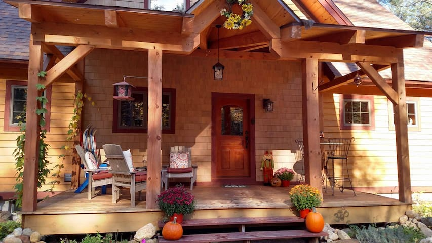 Solstice Lodge in the ADK - North Creek - Holiday home