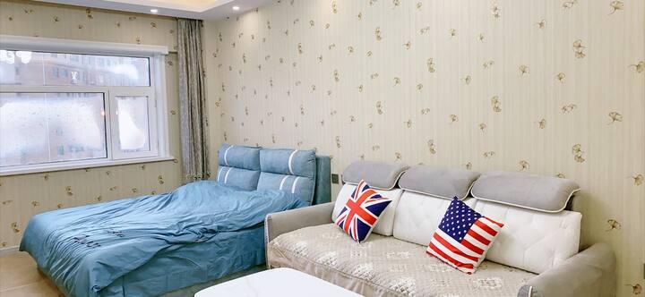 【夏橙】北欧现代风/沃尔玛附近—东镇公寓/江北同心医院对面◀️一居室/环境舒适整洁