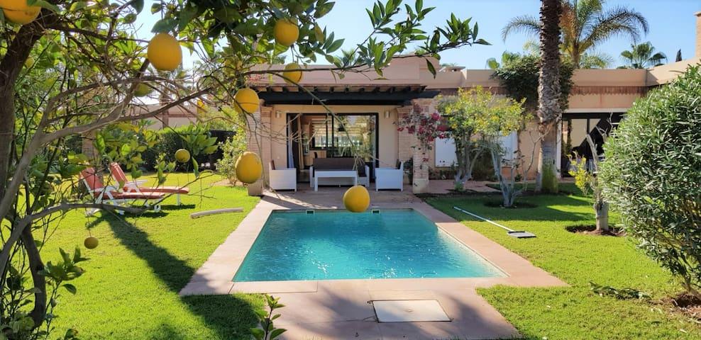 (40) vaste Villa 120m2 avec piscine privée