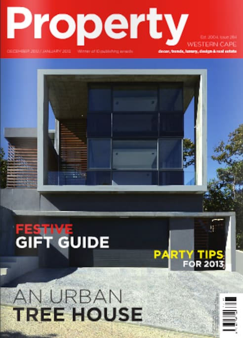 Front cover of PROPERTY magazine