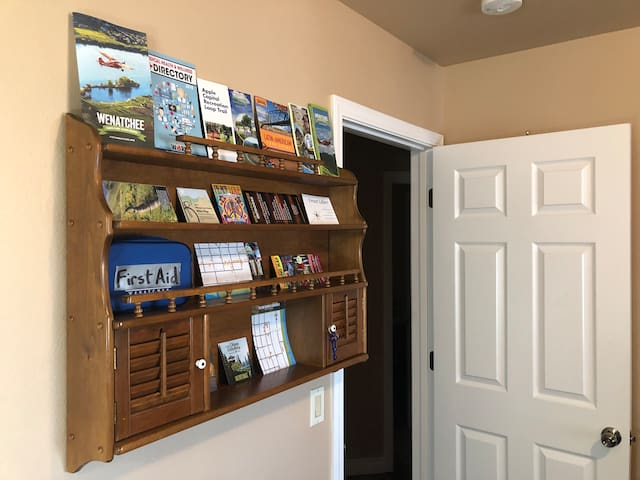 Area Brochures for all Fun Activities while staying in the Wenatchee Valley