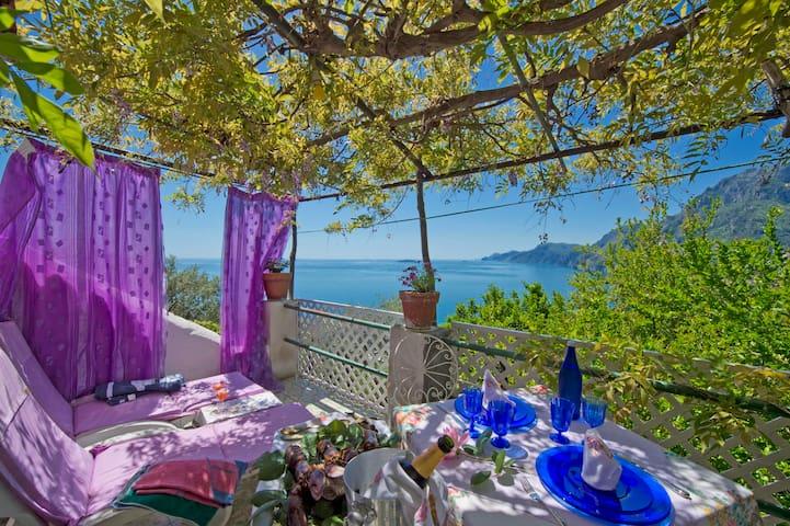 Casa Perseus, your nest in Positano - Positano - Hus