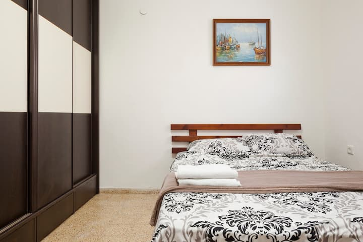 Excellent room 100 metr from the Mediterranean Sea