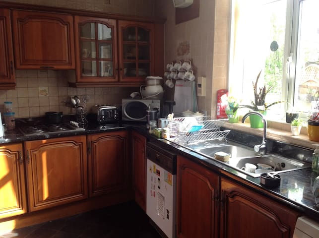 Doublebed room with park view - Newcastle upon Tyne - House