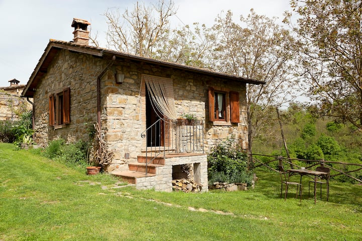 Cottage in Toscana sicurezza all' aria aperta