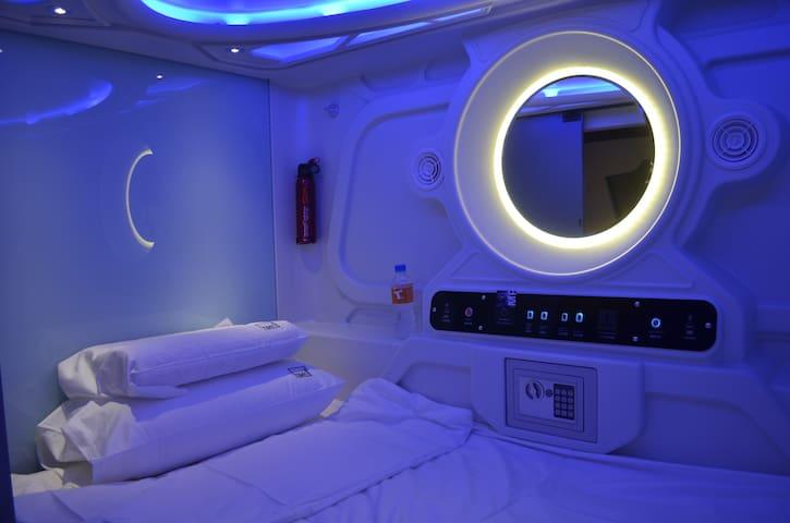 Time Capsule Hotel - Pulau Pinang - Slaapzaal