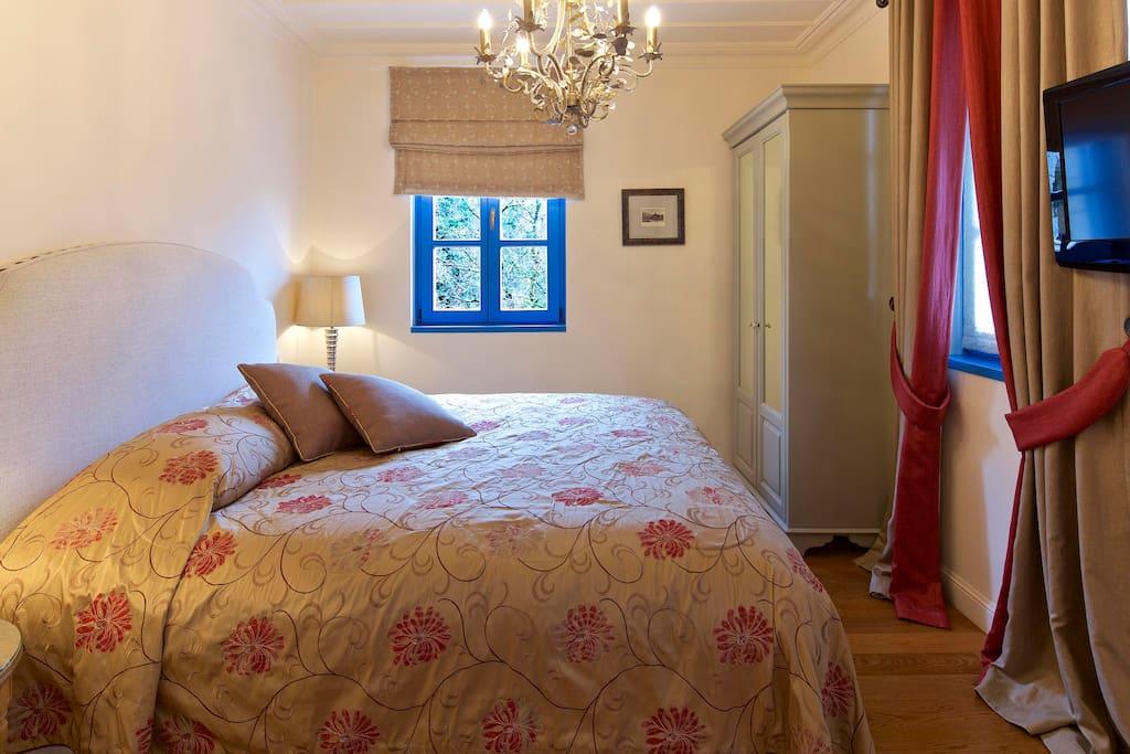 1ο υπνοδωμάτιο του Chalet