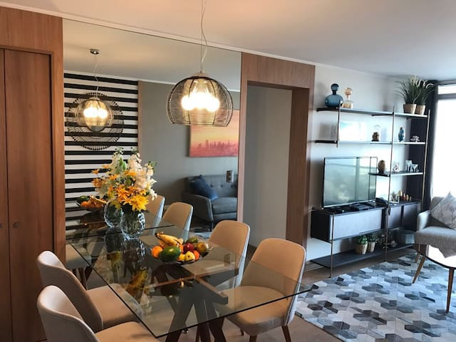 Brand new furnished well located flat - Barranco