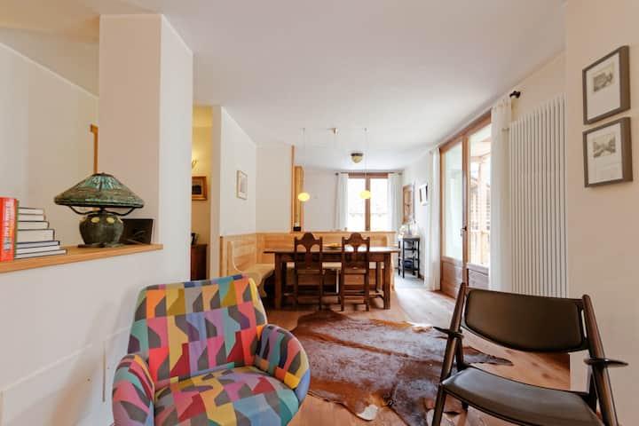 Charming apartment in Italian Alps