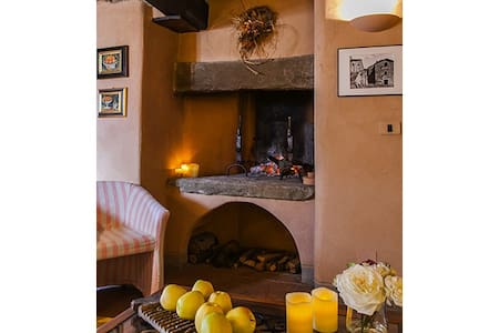 Beautifully restored 2 br barn - Cortona