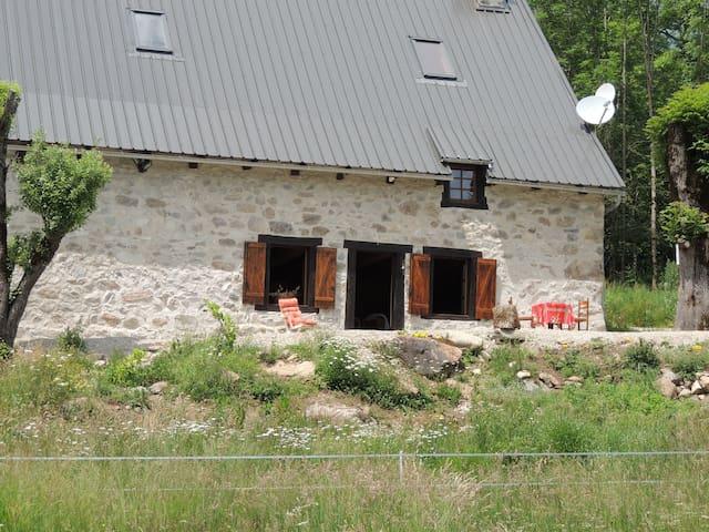 La ferme de La Pausetie au milieu de la forêt - Champs-sur-Tarentaine-Marchal - Huis