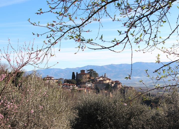 A Perfect Tuscan Villa in Montegonzi